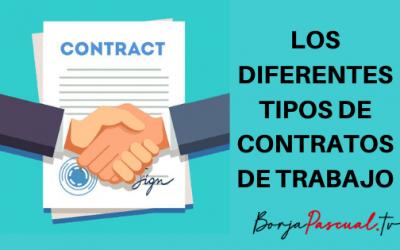 Los diferentes tipos de contratos de trabajo