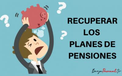 ¿Es interesante rescatar los planes de pensiones?