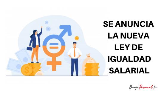 Ley de igualdad salarial