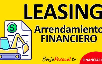 Leasing o arrendamiento financiero
