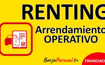 Renting o arrendamiento operativo